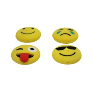 Radiere colectionabile Smiley ochelari