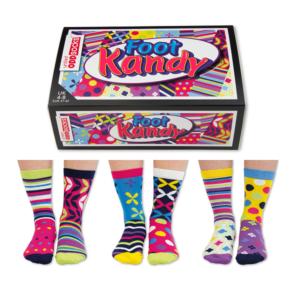 Set 6 sosete femei Foot Kandy