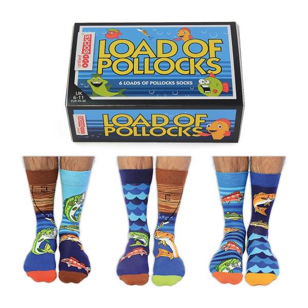 Set 6 sosete barbati Load of Pollocks.