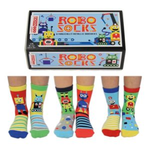 Set 6 sosete copii Robo Socks