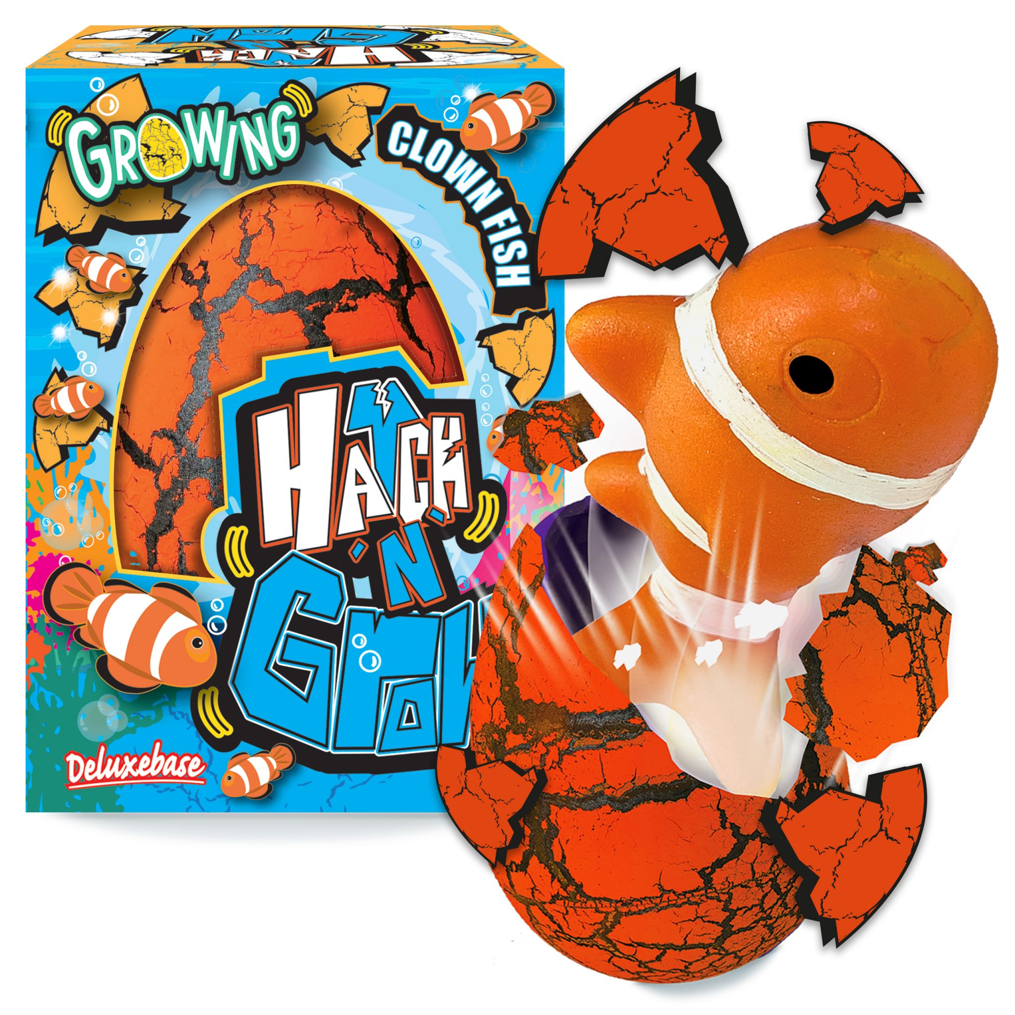 Ou figurina cu surpriza, Hatch'n Grow, Clown fish