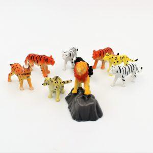 Set figurine animale salbatice Big cats