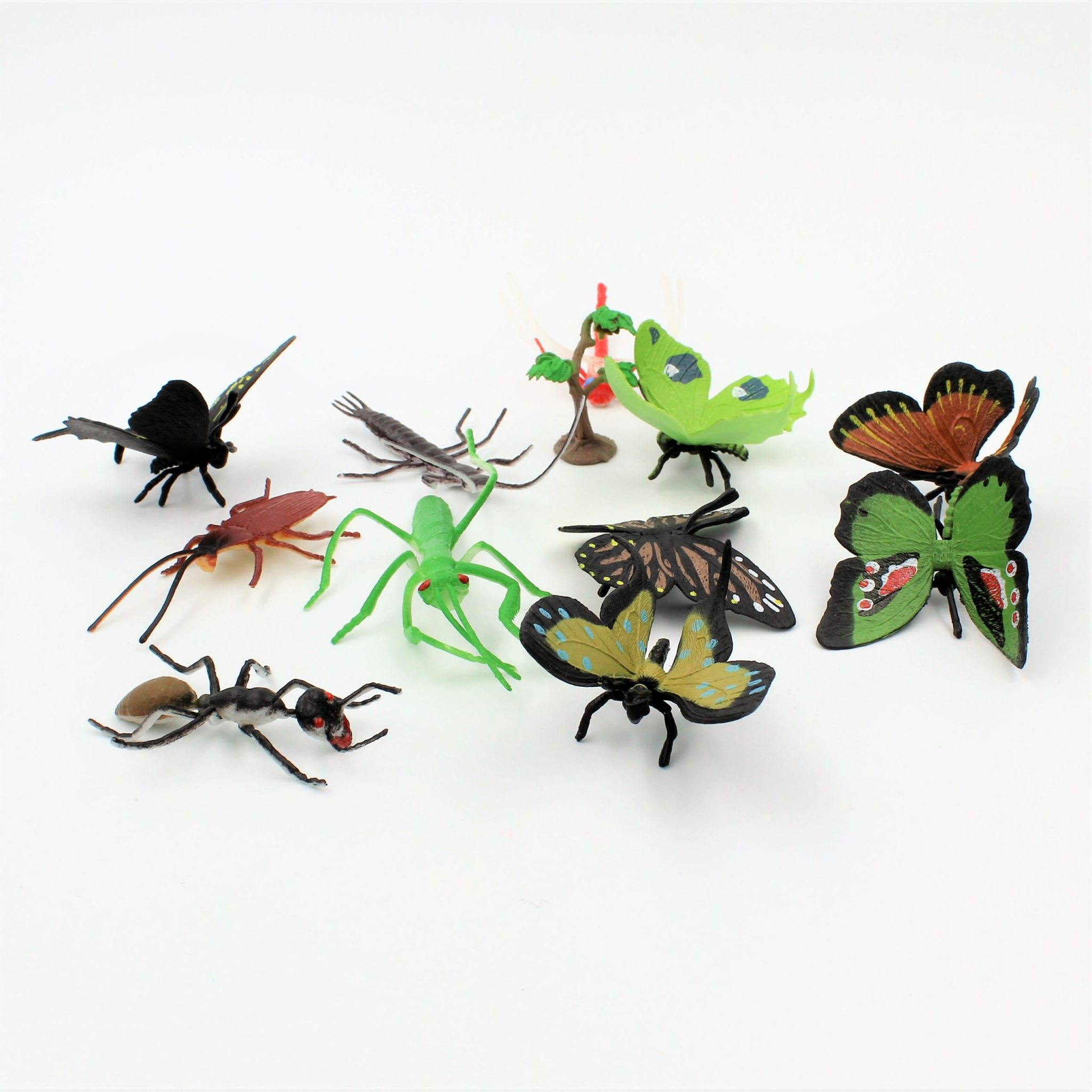 Set diverse figurine insecte Insects
