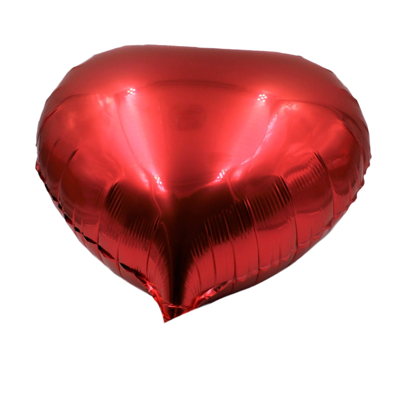 Balon roșu sub formă de inimă
