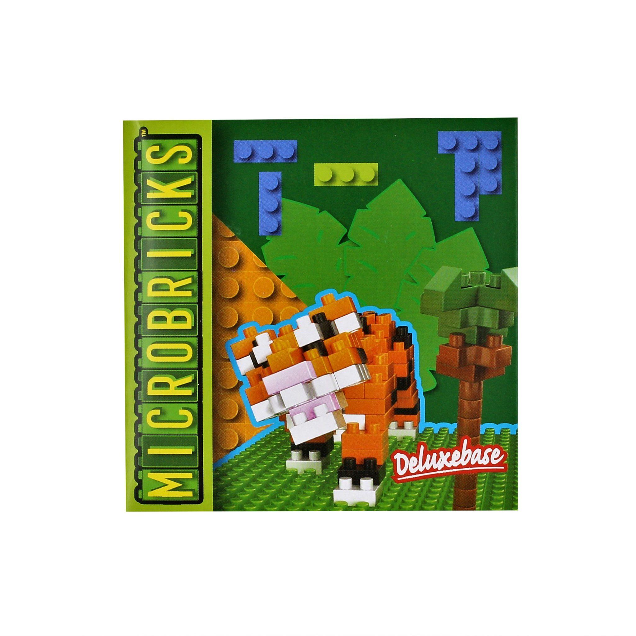 Set constructie Microbricks tigru 167 piese
