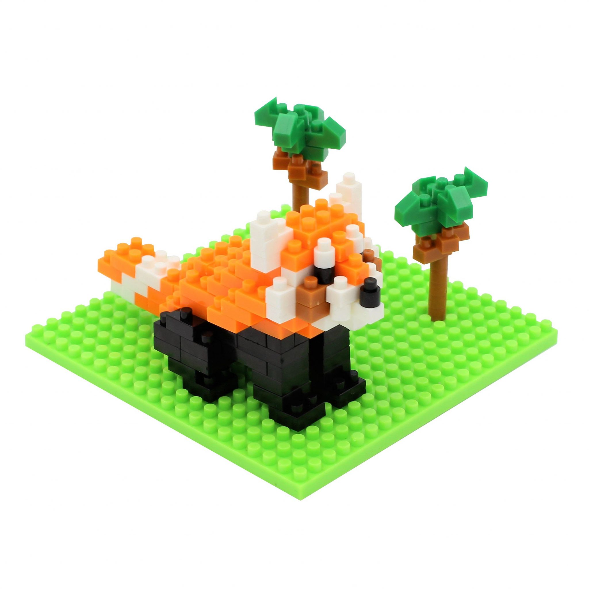 Set constructie Microbricks red-panda 180 piese