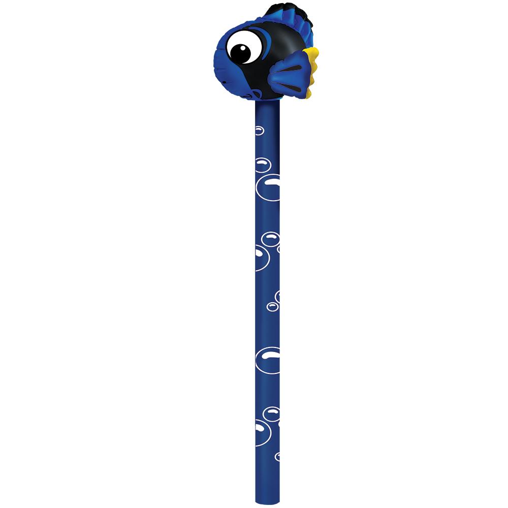 Balon gigant 140 cm peste albastru