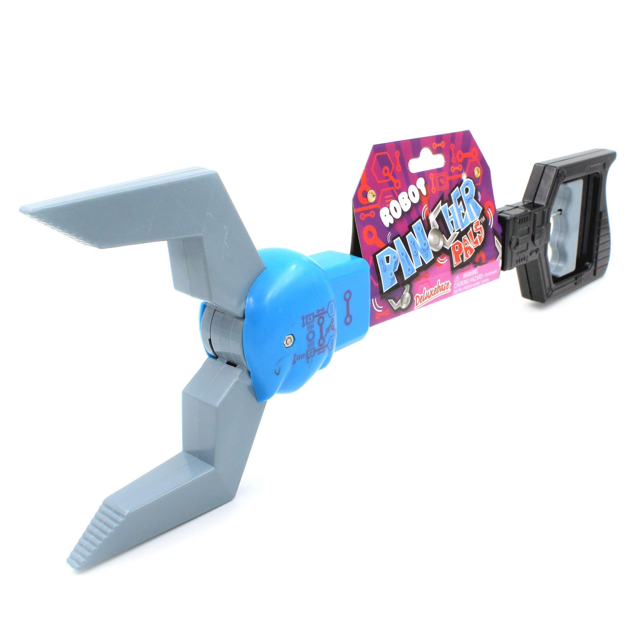 Cleste pentru apucat Robot gri albastru