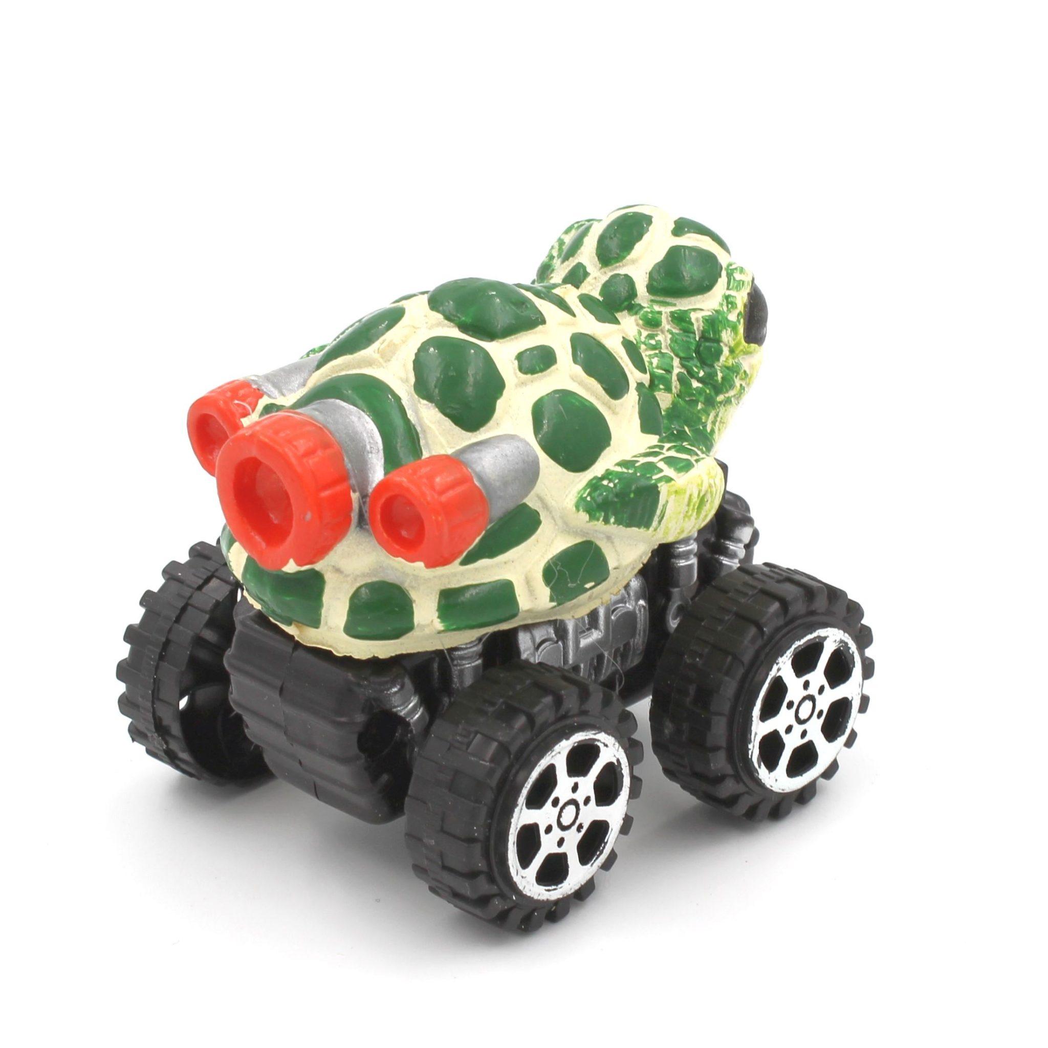 Mașinuță cu sistem friction broasca testoasa
