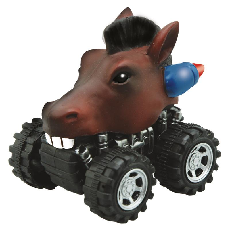 Mașinuță cu sistem friction cal multicolor