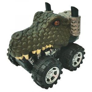 Mașinuță cu sistem friction crocodil multicolor