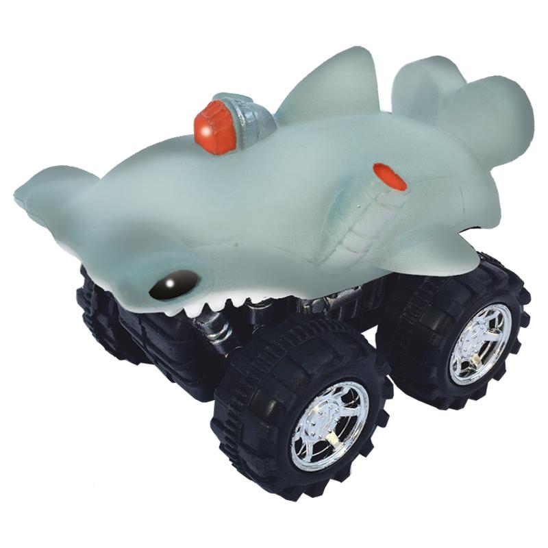Mașinuță cu sistem friction rechin ciocan
