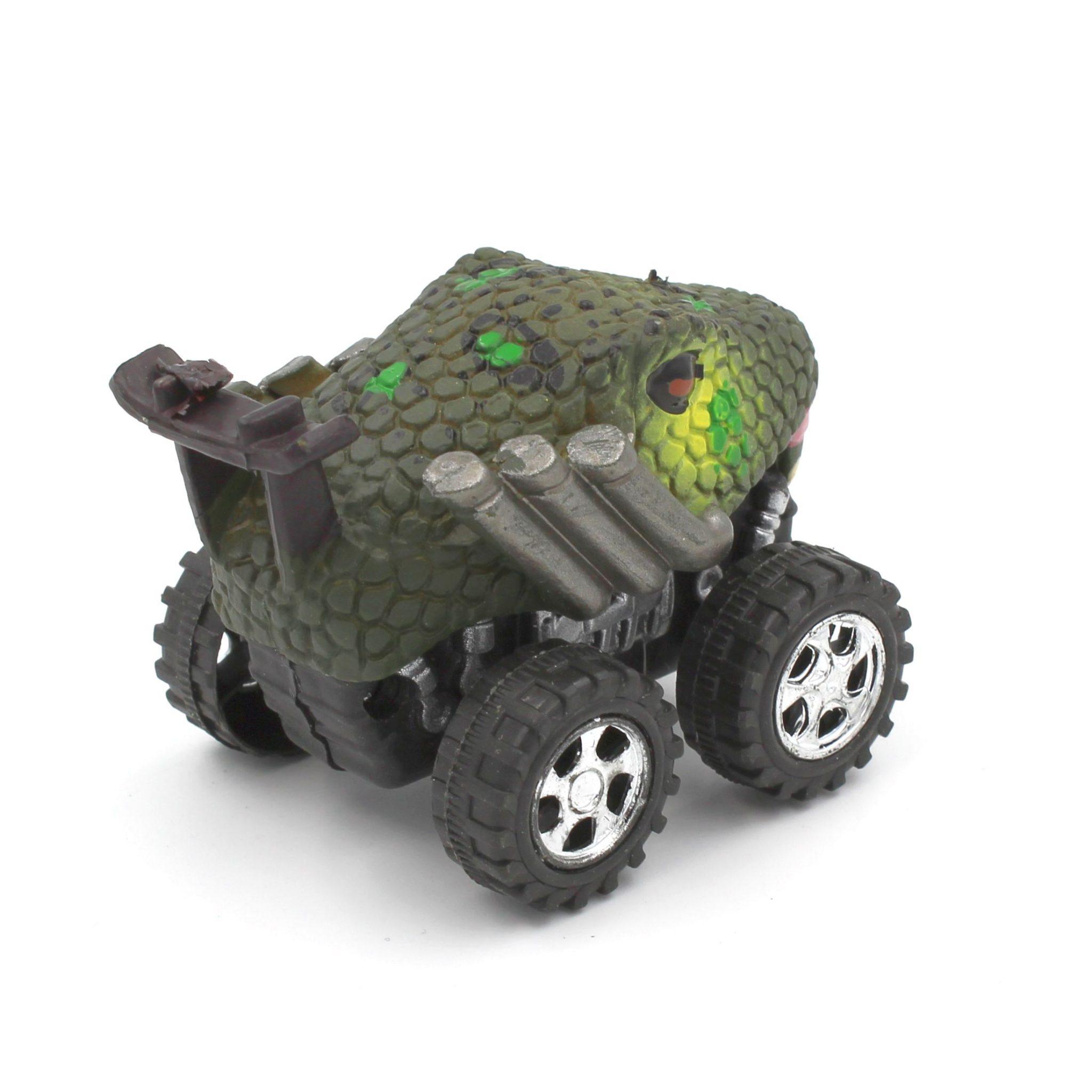 Mașinuță cu sistem friction sarpe multicolor