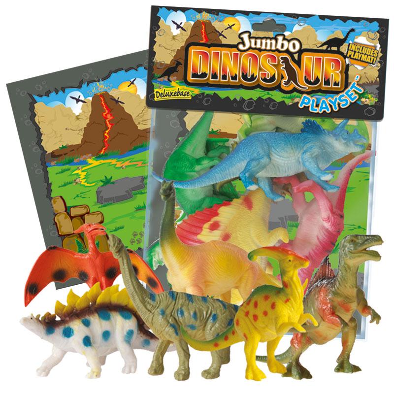 Set figurine jumbo 8 piese Dinosaur