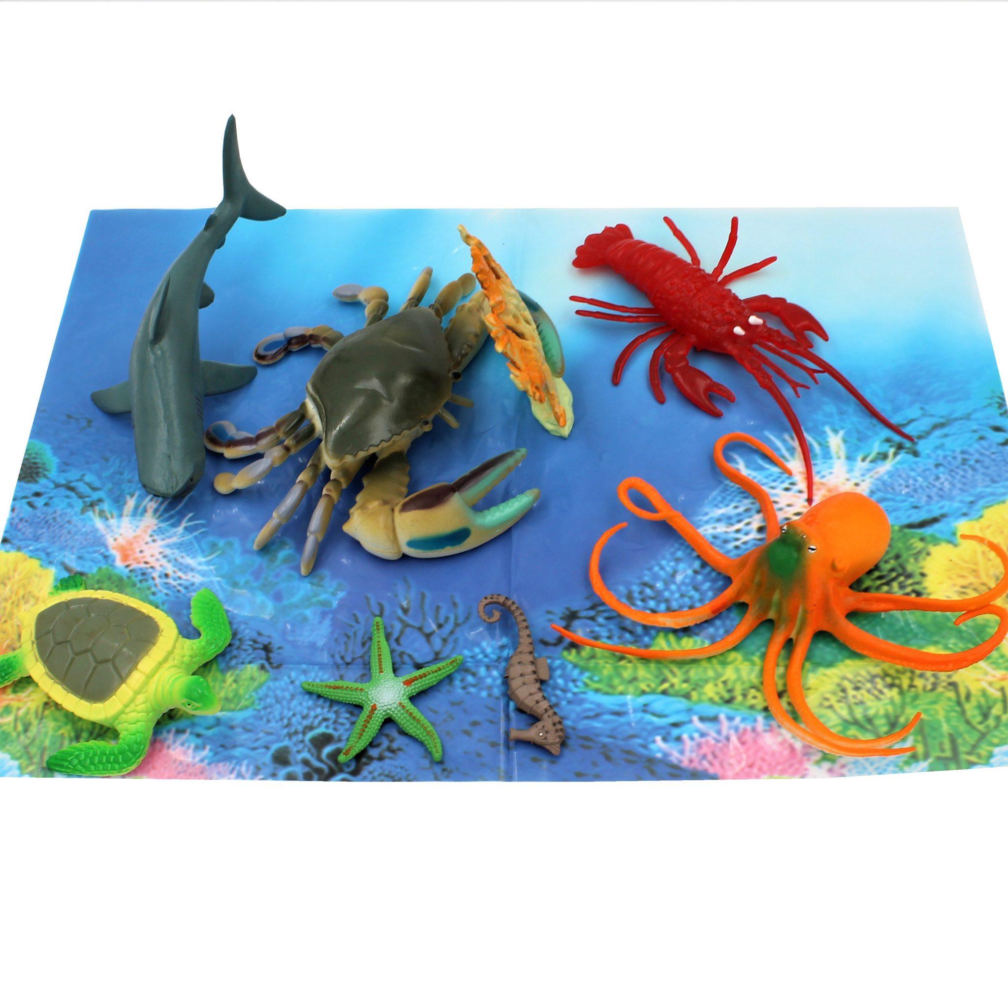 Set figurine jumbo 8 piese Ocean