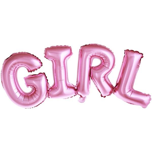Balon party girl roz 74x33 cm