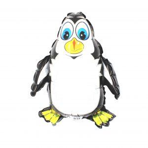Balon zoo pentru copii Pinguin alb