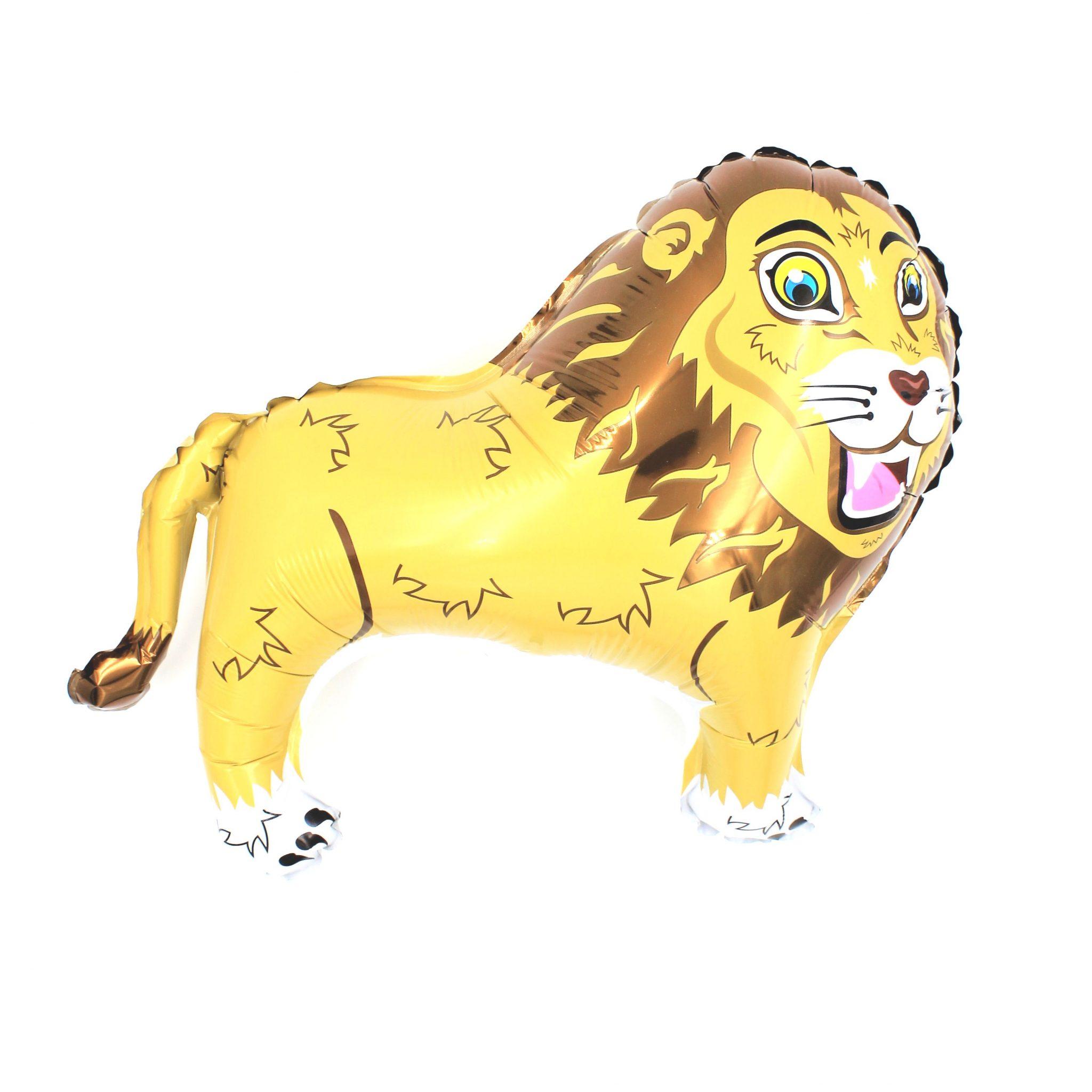 Balon zoo pentru copii Leu crem