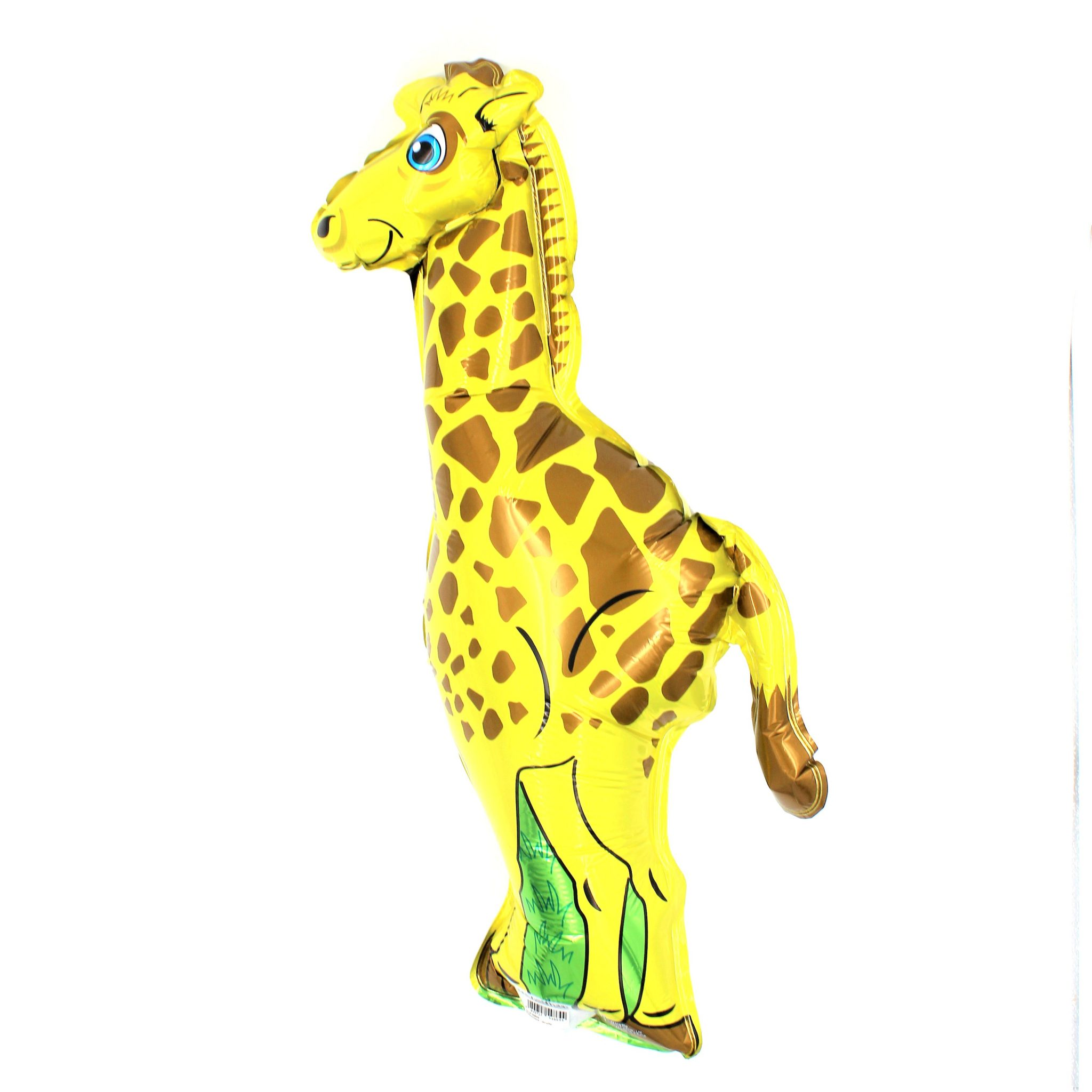 Balon zoo pentru copii Girafa galbena