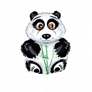 Balon zoo pentru copii Panda alb