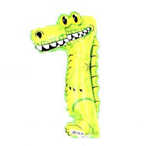Balon zoo pentru copii Crocodil verde