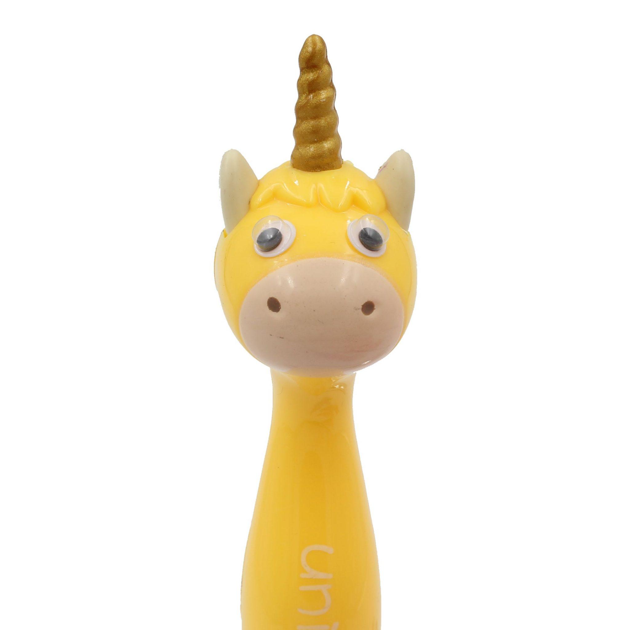 Pix funny unicorn galben colectia animalute