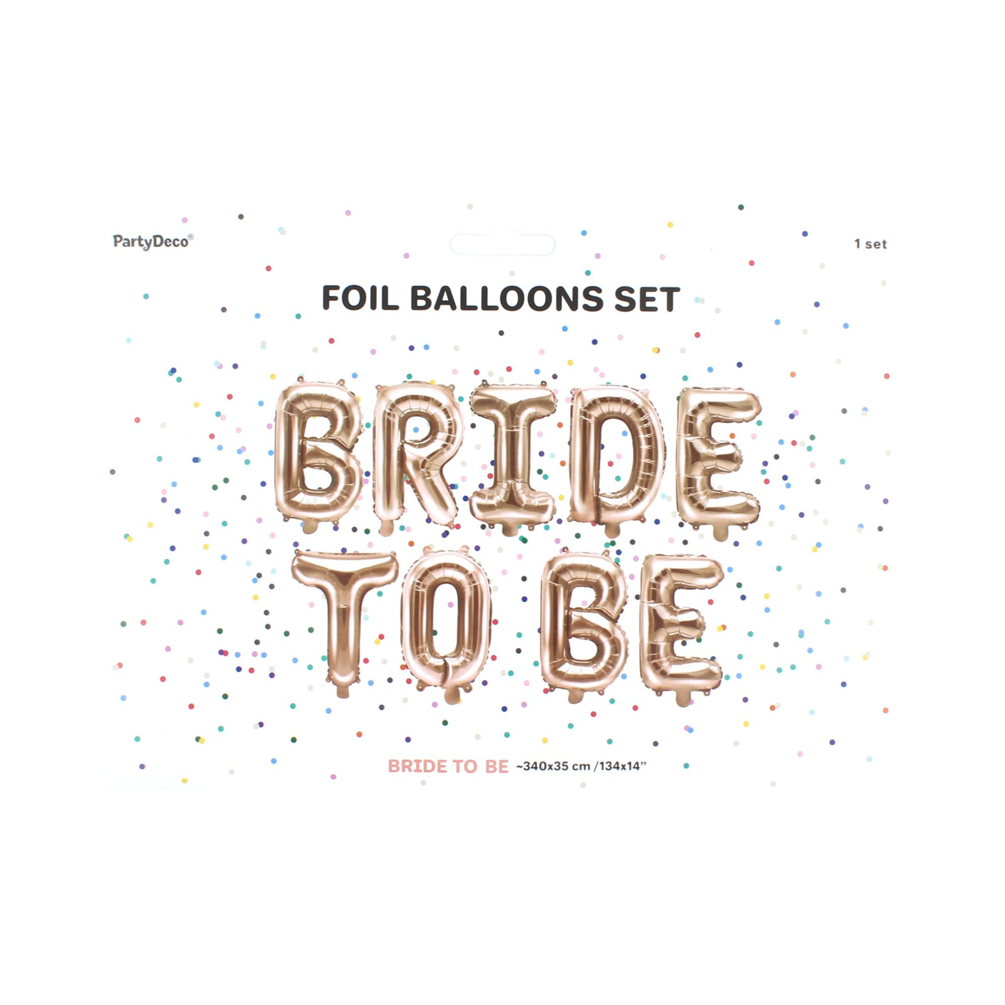 Balon Bride to be 340x35 cm