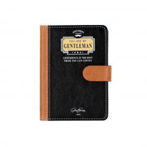 """Agenda colectia Gentleman's """"Confidence is the..."""""""
