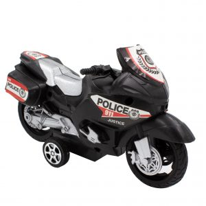 Motocicleta de jucarie sistem friction negru