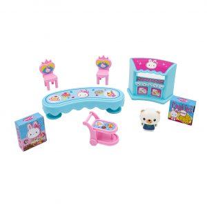 Set de joaca Casa Iepurasului cu accesorii Rabbit House