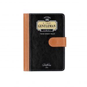 """Agenda colectia Gentleman's """"Your finest trait"""""""