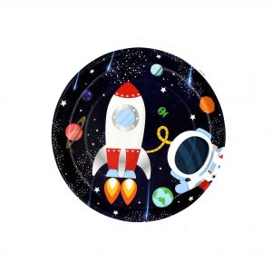 Set 8 farfurii 23 cm Galaxy