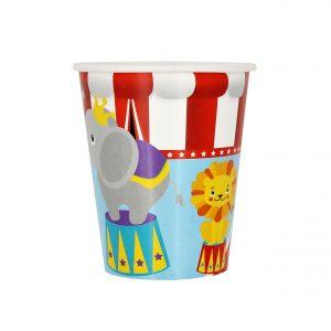 Set 8 pahare 260 ml Circus