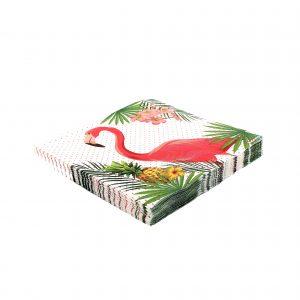 Servetele party 16 buc. 33cm Flamingo