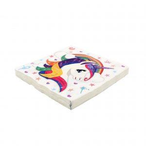 Servetele party 16 buc. 33cm Unicorn
