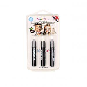 Set 3 creioane PaintGlow Monochrome HP45