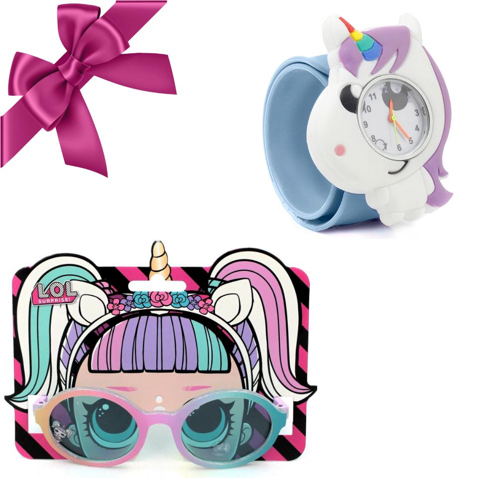 "Set promotional Gift Design pentru fete ""Rainbow"""