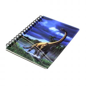 Carnetel zoo cu spirala 3D Brachiosaurus