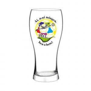 Pahar bere Ai n-ai mingea bea o bere!