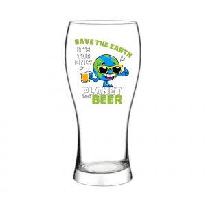 Pahar de bere SAVE THE EARTH